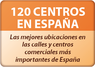 120 centros en España